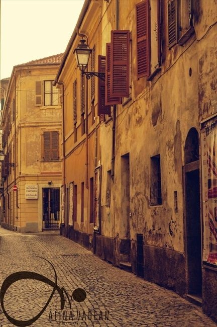 Cuneo, Italy. OLd buildings
