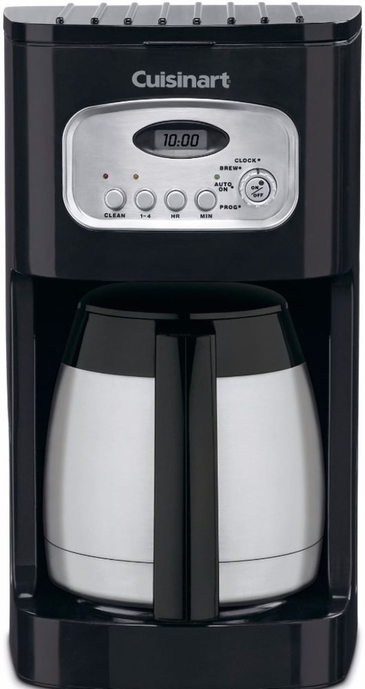 Thermal Coffee Maker DCC-1150BKFR 10-Cup Programmable Double Wall #Thermal #Coffee #Maker