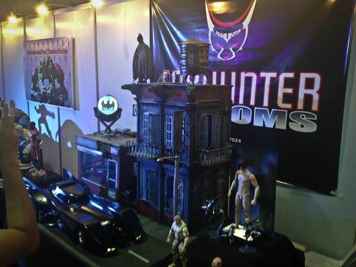 Gotham diorama 1989