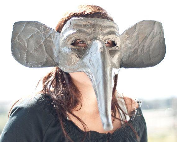 paper mache elephant mask - photo #15