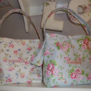Handmade Cath Kidston lunch bags