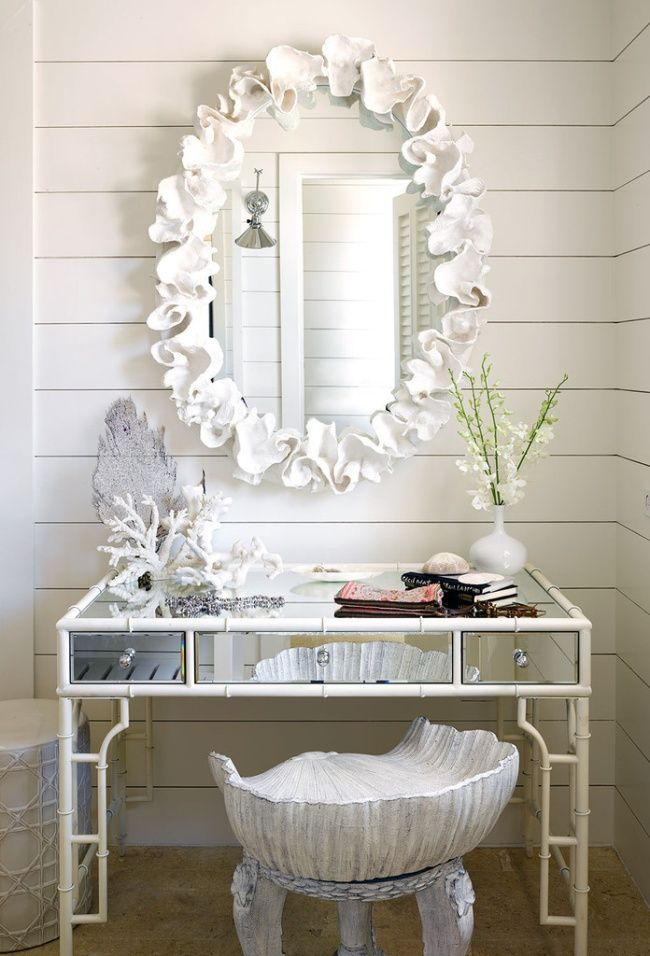 Best 25 Sea Shell Mirrors Ideas On Pinterest Seashell Frame Seashell Picture Frames And
