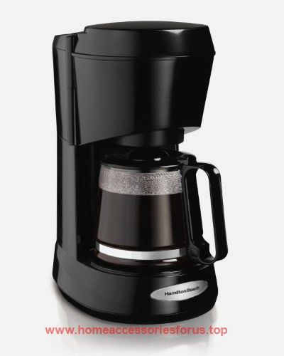 Hamilton Beach Coffee Maker with Glass Carafe, 5-Cup (48136)  BUY NOW     $19.99    There's nothing like a cup of fresh, flavorful coffee to start the morning. Hamilton Beach 4-5 Cup coffee makers brew four to  ..  http://www.homeaccessoriesforus.top/2017/03/09/hamilton-beach-coffee-maker-with-glass-carafe-5-cup-48136/