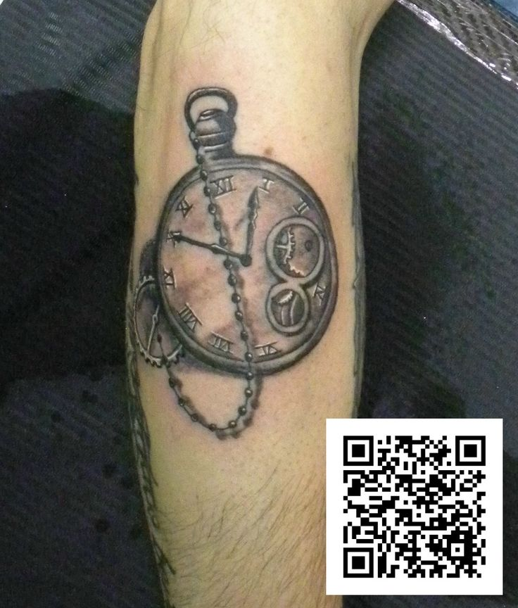#orologio grigio&nero #tatuaggio #montefortetattoo2016