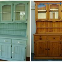 What a transformation using Blake & Taylor Chalk Furniture Paint. An example of a beautiful before and after DIY project.