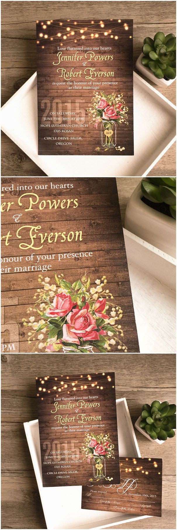 449 Best Wedding Invitations Images On Pinterest Wedding