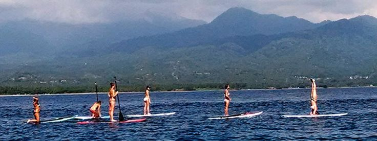 Playtime on a day off during a Zuna Yoga teacher training. http://www.zunayoga.com/travel-gili-meno.html