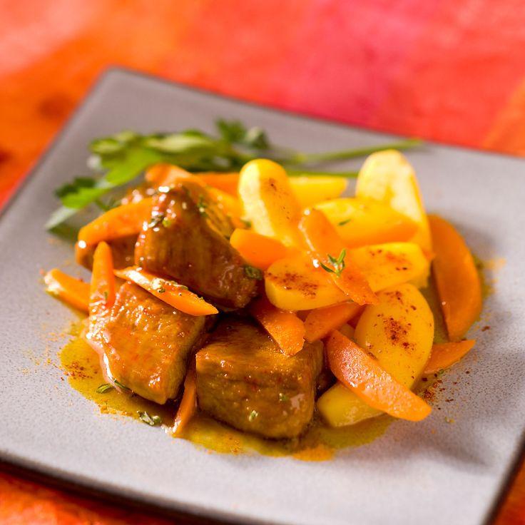 Découvrez la recette Sauté de veau safrané sur cuisineactuelle.fr.