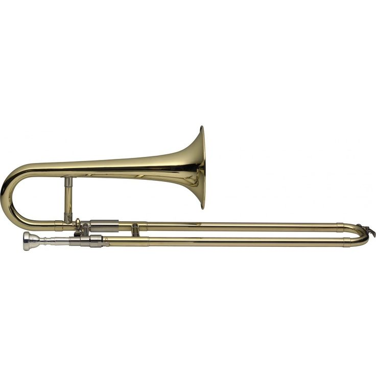 Levante LV-TR4905 Lacquer-finished Brass Bb Slide Trumpet with Soft Case