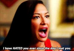 """And Santana was so clearly grieving, but she tried to shield it in anger, which she directed at Sue. 