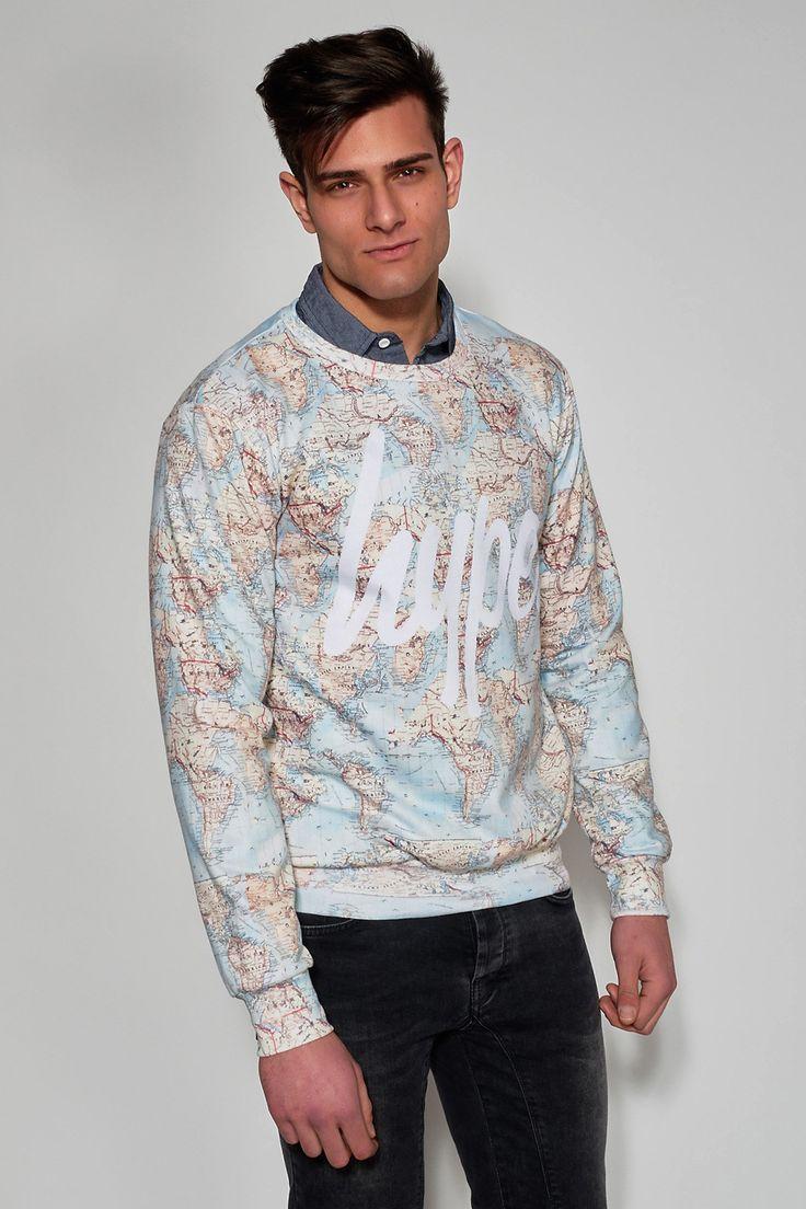 #HYPE #VINTAGE #MAP #Men #Clothing #Ozon #Boutique