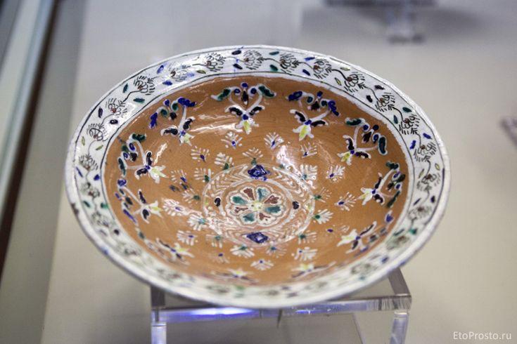 История турецкой плитки. Музей керамики в Стамбуле