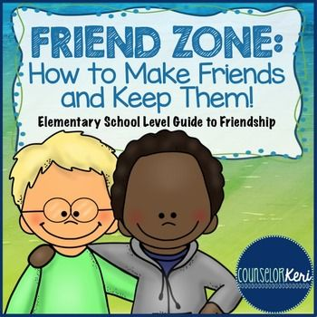 This product contains activities for teaching elementary-aged students what a friend is, how to make a friend, and how to keep a friend! The activities are perfect for individual student counseling or small groups.