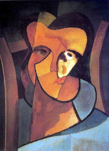 Pettoruti, Emilio (1892-1971) - 1918 Self-Portrait