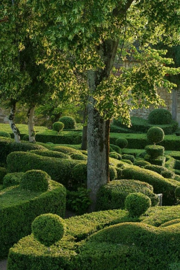 Le croissant d'argent: Of Marqueyssac, Gardens, Green, Formal Gardens, France, Places, Beautiful Gardens, Landscape