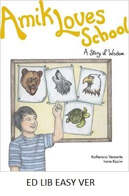 October 20, 2016. Amik loves school: a story of wisdom - by Katherena Vermette, illustrated by Irene Kuziw. Amik tells his grandfater about his school. Then his grandfather tells Amik about the residential school he went to. Amik decides to show his grandfather how different his school is.