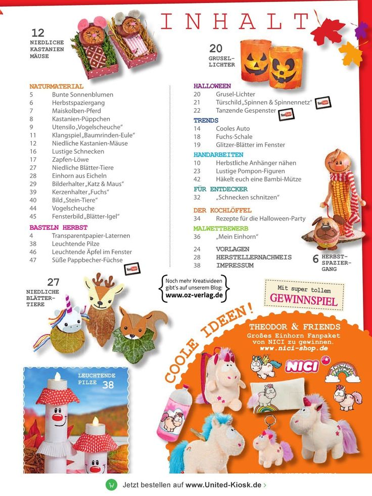 Basteln mit Kindern - epaper Leseprobe | Ausgabe 71/2017 vom 09.08 ...