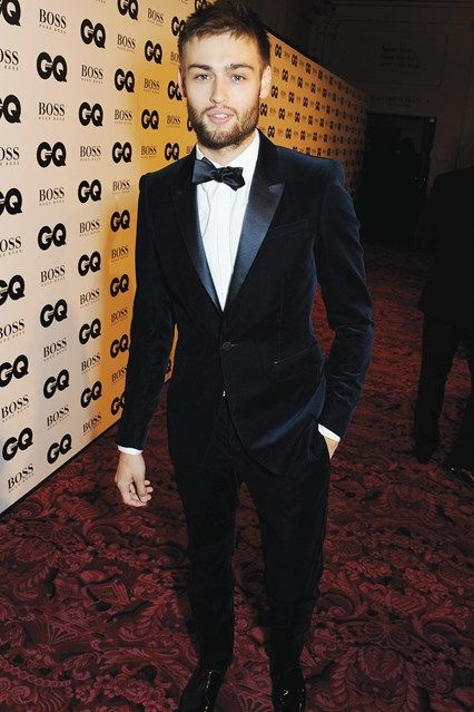 Douglas Booth in Burberry at the GQ Men of the Year Awards 2013
