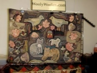 love this Janice Johnson rug. See the pattern at woolywoolen.blogspot.com: Pattern, Animal Rugs, Hooked Animal
