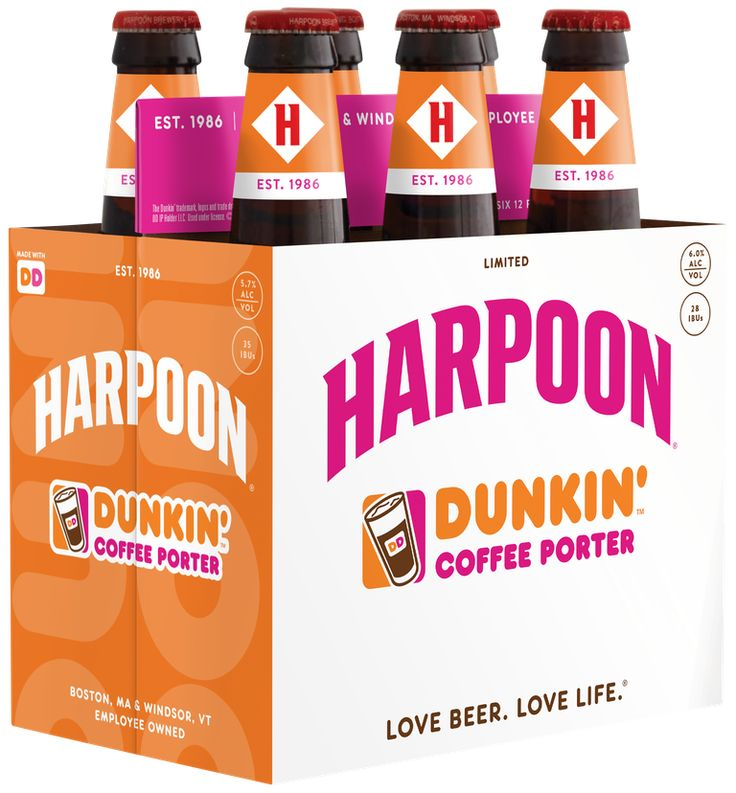 Dunkin and harpoons coffeeflavored beer is officially in