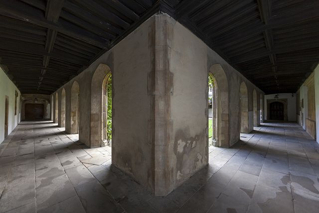 Return to Jesus College - 25 | Cloister Court | Flickr - Photo Sharing!