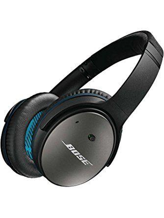 Bose QuietComfort 25 Acoustic Noise Cancelling Headphones for Apple Devices, Black ❤ Bose Corporation