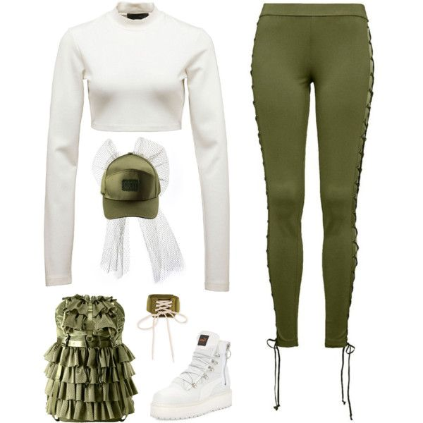 A fashion look from April 2017 featuring Puma tops, Puma activewear pants and Puma boots. Browse and shop related looks.