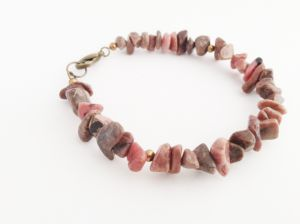 Relaxed  $15 from Bait By Kiya Frazier  Pink  Stone Chips  with Brown, Black and Grey Flecks  Pink provides feelings of caring, tenderness, self-worth, love, and acceptance.