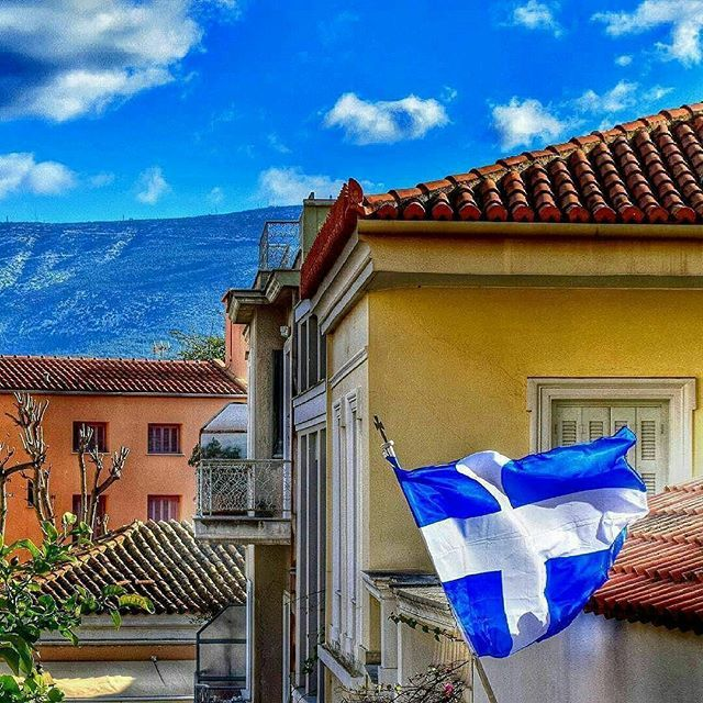 Plaka Athens .  By  @themisk7 @Wonderful.Greece  #WonderfulGreece #Wonderful_Greece #Greece #Grèce #Grecia #Griechenland #Греция #希腊  #ギリシャ #Plaka  #Athens #Attica  #Πλακα  #Αθηνα #Αττικη  #Ελλάδα  #Hellas ¤ .  @Greek_Blue #GreekBlue .  #GreekFlag #Ελληνική_Σημαία  #Greek_Flag #ΕλληνικήΣημαία .