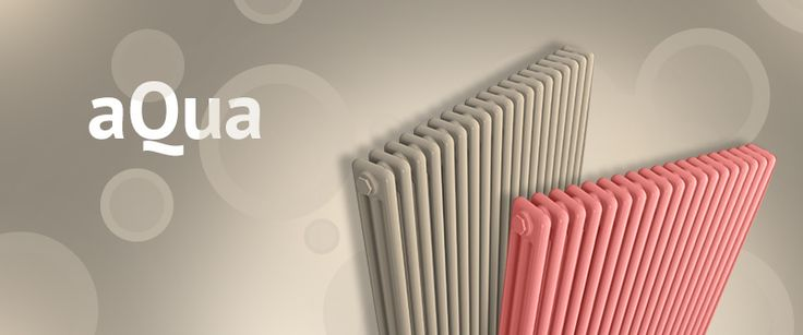 Aqua - Tubular radiator from steel. Popular at reconstructions. Radiator with high heat output. In various colours. Central heating radiator. The number of segments is given by the name of the radiator. Delivery: 6 weeks.