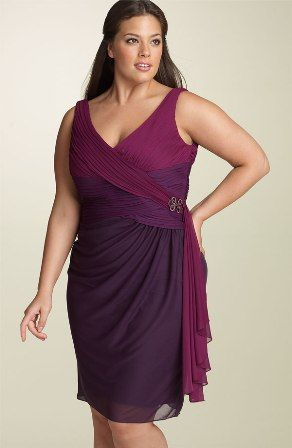 vestidos de noche para gorditas: Cocktails Dresses, Parties Dresses, Color, Plus Size Dresses, Plus Size Fashion, Plus Size Woman, The Dresses, Wraps Dresses, Plus Size Clothing