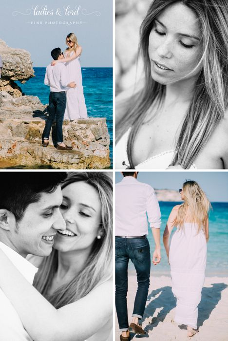 Beach Engagement Shoot Mallorca - Cala Llombards #prewedding #mallorca #beachshoot