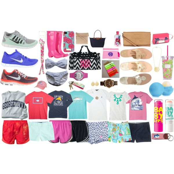 """""""what to pack for a beach trip"""" by enjoli-rodriguez on Polyvore"""