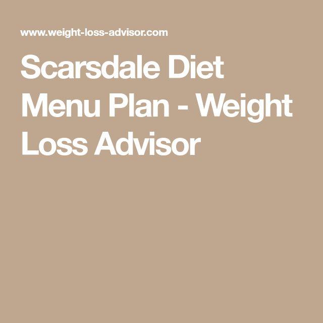Scarsdale Diet Menu Plan - Weight Loss Advisor