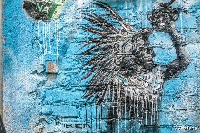 Berlin, Graffiti Courtyard