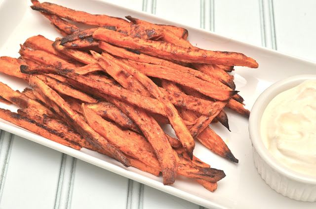 Healthy Jalapeno: Baked Chipotle Sweet Potato Fries {with Garlic ...