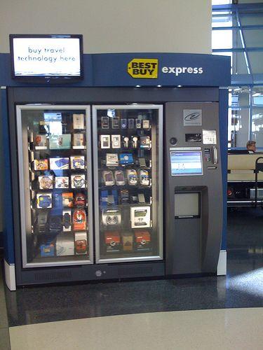 Best Buy Vending Machine | Vending machine