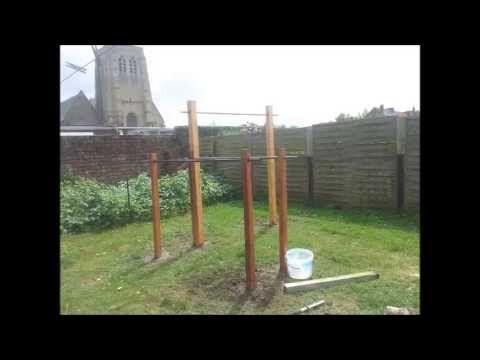 Tutoriel : fabriquer sa barre de traction et barres parallèles ...