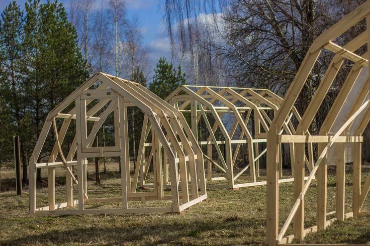25+ best ideas about Serre En Bois on Pinterest Serre bois, Potager en bois y Invernadero de  # Construire Une Serre En Bois Et Verre