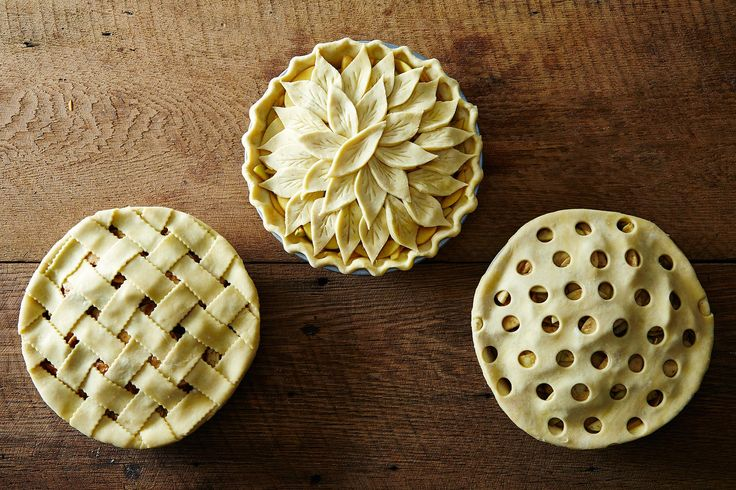 How to make fancy edges and fancy toppings -- and up your pie game this holiday season.
