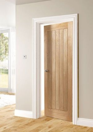 wooden doors white skirting boards - Google Search