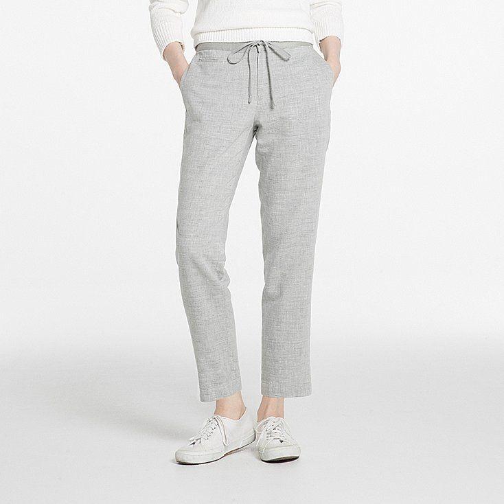 25 best ideas about pantalons en lin pour femmes on pinterest tenue de pantalon en lin et. Black Bedroom Furniture Sets. Home Design Ideas