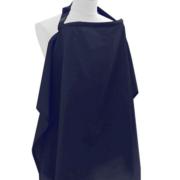 Littlemico Nursing Cover Classic, Navy Blue.