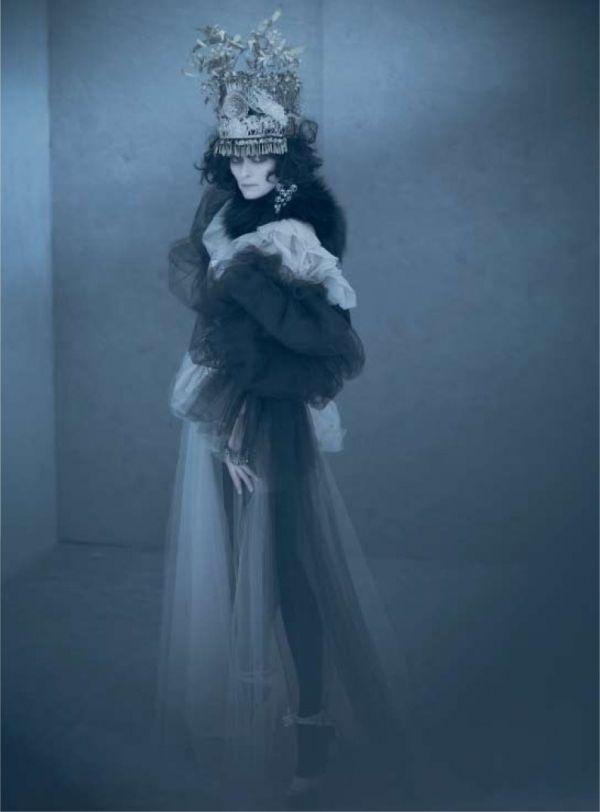Acne Paper Sweden | Tilda Swinton by Paolo Roversi