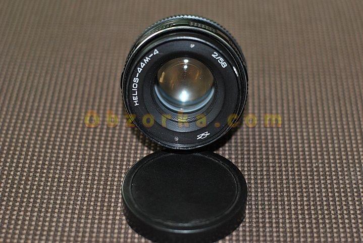 Объектив Гелиос-44M-4 58 mm f/ 2 - хорошая советская оптика