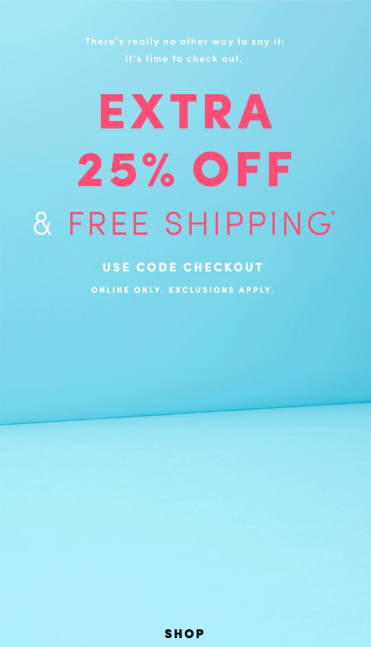 Email Marketing Flash Sale at J.Crew Factory {25% off & free shipping!}