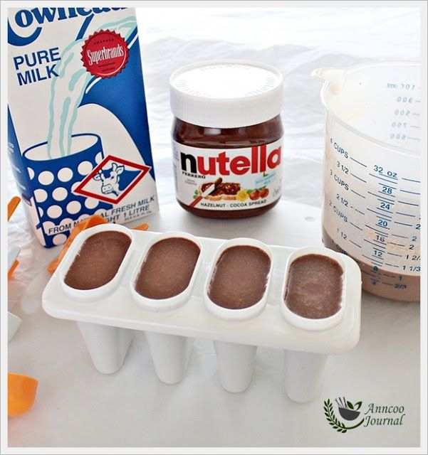 Nutella Popsicles | Anncoo Journal