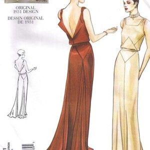 1930s Wedding Dress Design Inspiration
