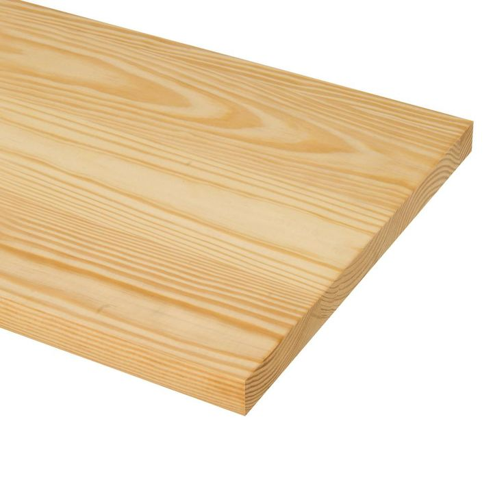 48 In X 11 1 2 In Unfinished Pine Stair Tread 8503e 048 Hd00l The Home Depot Pine Stair Treads Stair Treads Stair Parts