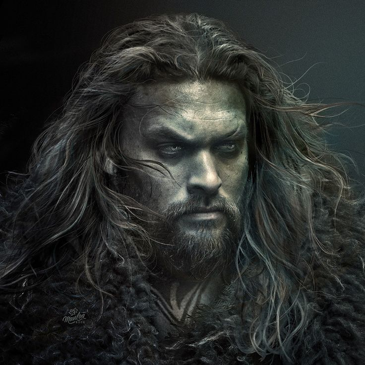 New Aquaman - Jason Momoa portrait